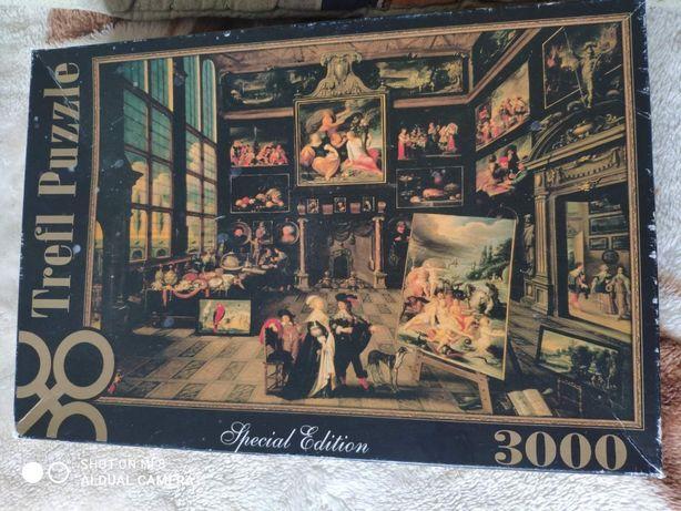 Продам коллекционные Пазлы на 3 000 шт.