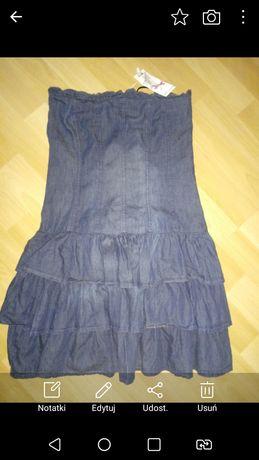 Nowa sukienka jeansowa rozm. 36