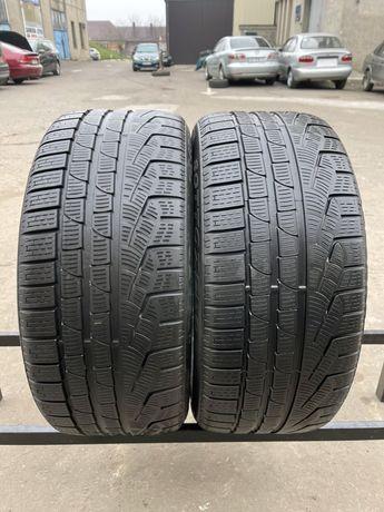 Шины 245/45/17 Pirelli SottoZero 2шт зима 6,1мм