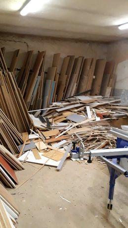 odpady drewniane