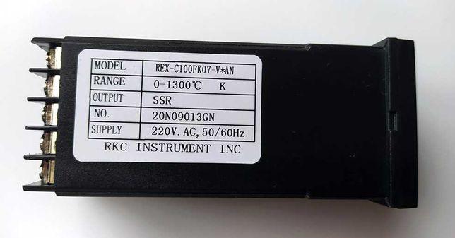 PID-регулятор REX-C100 REX-C100FK07-V*AN до 1300 градусов.