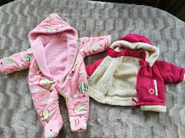 Комбинезон и курточка от 0 до 3 месяцев