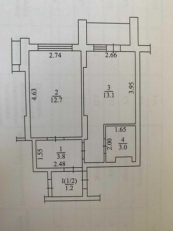 Собственник 1кв 35м2 ЖК Каховская, новострой 2020г, метро Левобережная