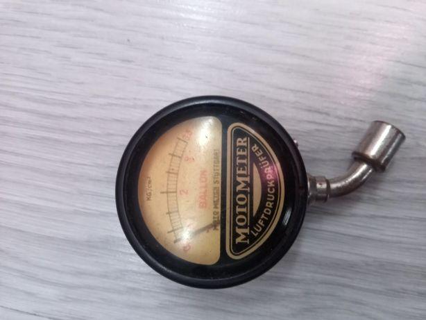 Ciśnieniomierz,manometr,stary Motometer,antyk