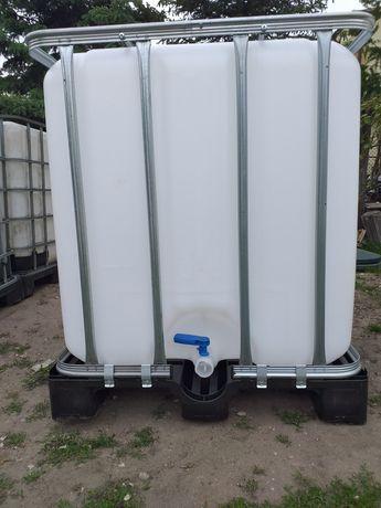 Mauzer 1000l zbiornik beczka mauser paletopojemnik