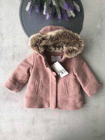 Пальто zara Zara куртка hm Mango 6-9, 9-12 , 18-24, 2-3 роки