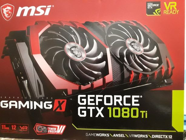 MSI NVIDIA GeForce GTX 1080 TI Gaming X 11GB
