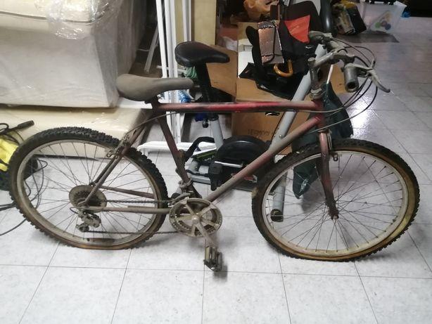 Bicicleta modelo montanha