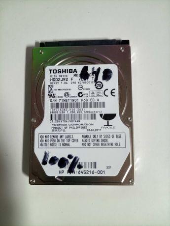 Disco Rígido Toshiba 640GB / / a 100%