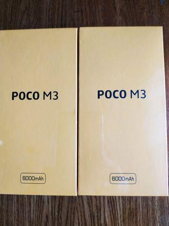 Xiaomi POCO M3, 4/64, Yellow, Snap 662, батарея 6000, камера 48Мп