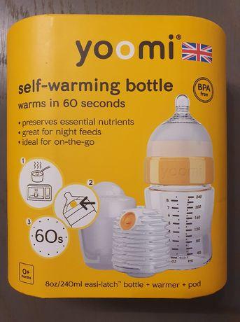 Yoomi Butelka z kapsułą i podgrzewaczem 240 ml