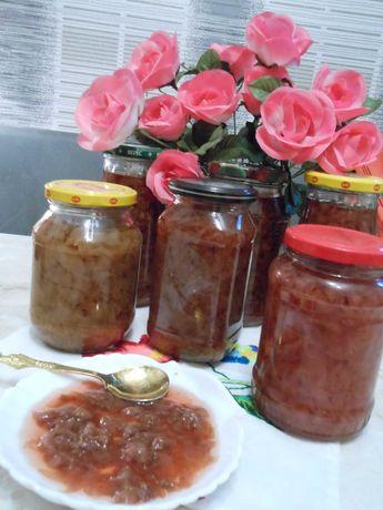 Варенье из лепестков розы,пол литровая баночка,Урожай 2021 года.