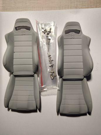 Fotele kierowcy i pasy model rc