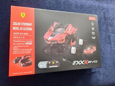 Zdalnie sterowany model do złożenia Ferrari