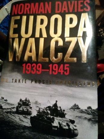 Książka EUROPA WALCZY Norman Davies