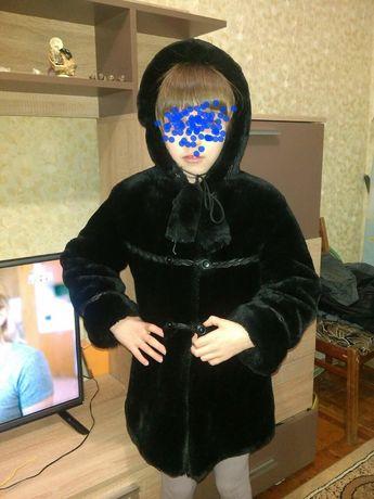 Шуба искусственная детская