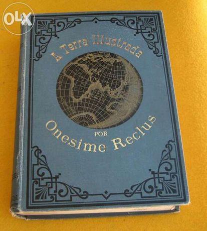 Livro Antigo A Terra Illustrada Companhia Nacional Editora