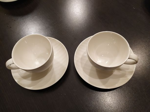 Zestaw filiżanek do kawy z podstawkami dla 2 osób Villeroy&Boch