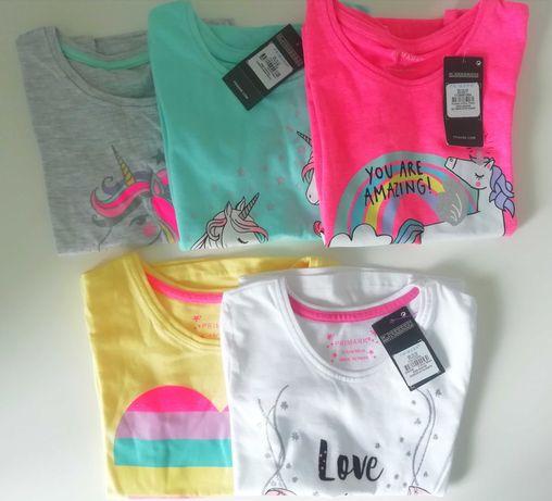 Футболки для дівчинки Primark, 2-8 років/ Детские футболки