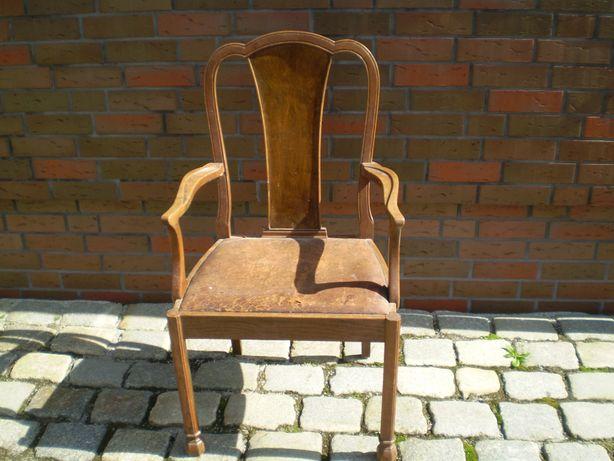 fotel debowy
