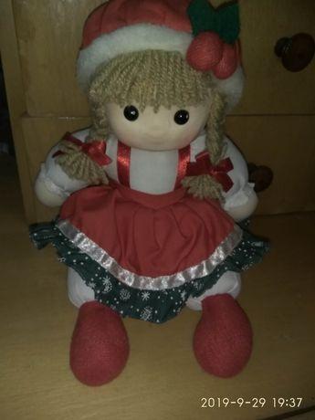 Кукла рождественская, мисис Санта Клаус.
