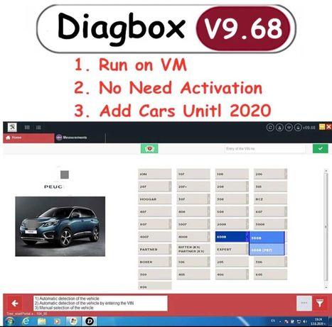 Atualização Diagbox versão V9 .68  via link 2021