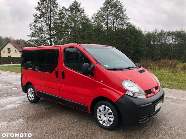 Renault Trafic 9 Osobowy Klima Bardzo Dobry Stan Opel Vivaro