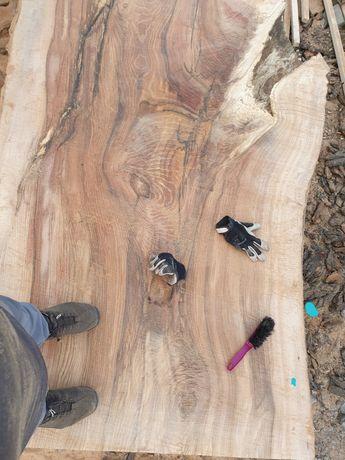 Monolit drewniany dąb jesion wiąz orzech pień decha deska blat stół