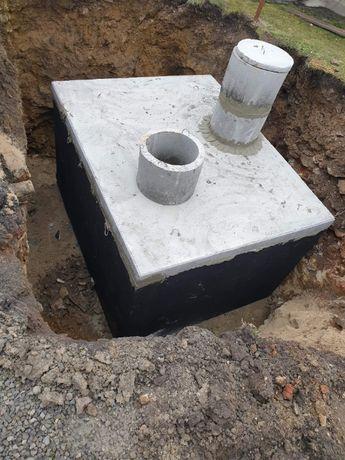 Szamba,Zbiorniki szambo betonowe kanał betonowy piwniczka deszczówka
