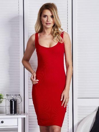 Sukienka czerwona Vero Moda nowa