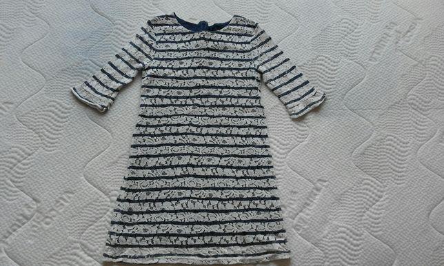 Koronkowa sukienka na bawełnianej podszewce next