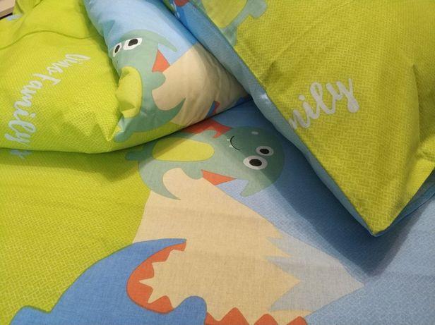 Детское постельное белье для мальчика и для девочки