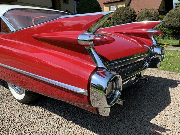 Cadillac z 1955 zabytkowy do ślubu samochód auto wynajem