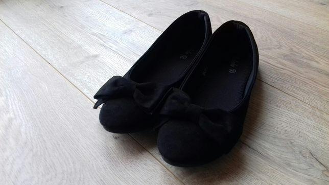 Czarne baleriny 38 nowe