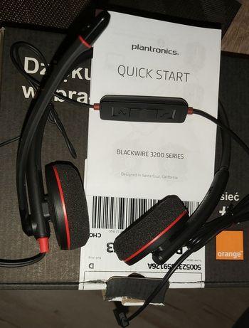 Słuchawki PLANTRONICS BLACKWIRE 3200 nowe sprzedam