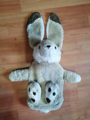 Грелка игрушка заяц