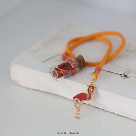 Marcadores de livros em cordão