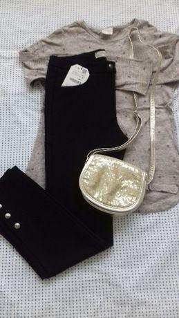 Spodnie+bluzka Zara 9-10 lat
