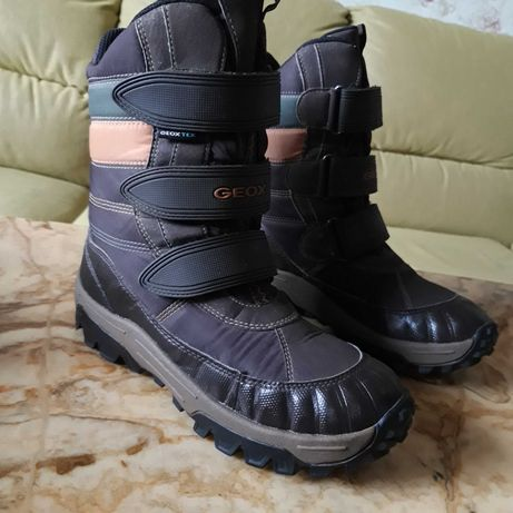 GEOX Salomon gore-tex детские зимние термо ботинки EUR 37р. сапоги
