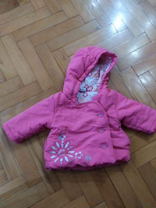 Kurtka zimowa dla dziewczynki rozmiar 3-6m, 62-68 Starachowice - image 1