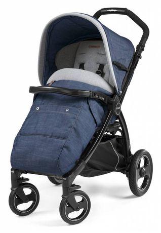 Peg perego book plus Urban denim коляска прогулочная для новорожденных