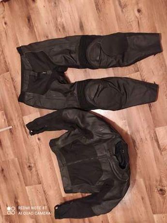 Kombinezon Motocyklowy OZONE (skóra) spodnie 56(xl) kurtka 58 (XXL)