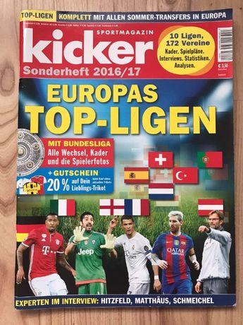 Skarb Kibica Kicker Ligi w Europie 2016/17