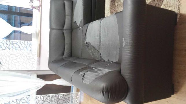 Narożnik Black Red White - tapicerka siedziska do wymiany