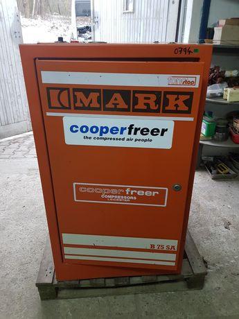Kompresor Tłokowy Sprężarka 5.5 kW 10 bar Mark B75SA IDEALNY
