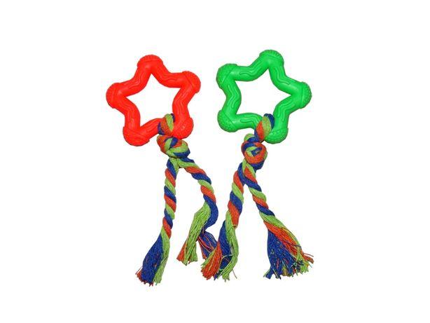 GRYZAK dla psa szczeniaka sznur zabawka