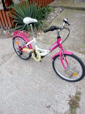 Rower dziewczęcy koła 20 cali