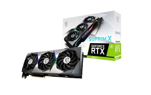 НОВАЯ Видеокарта MSI SUPRIM RTX 3080 Ti 12GB (RTX 3090)