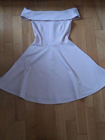 sukienka w kropki Mohito xs