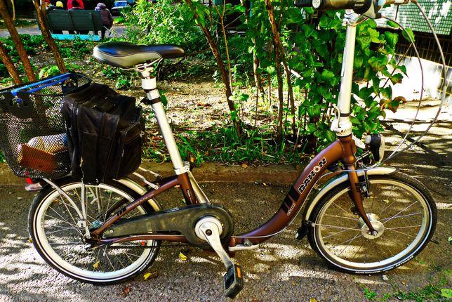 Складной велосипед  на 20колесах и 3ск планетарке Срам